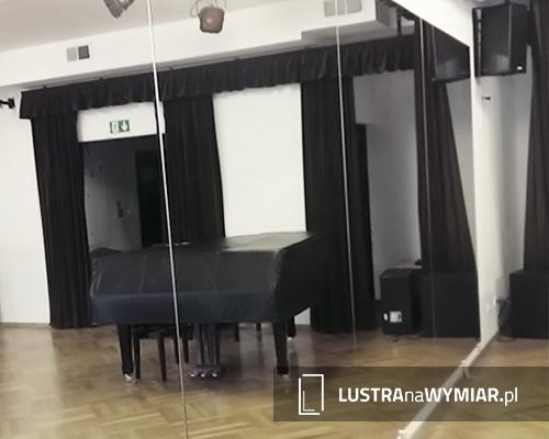 Duże lustro do sali tanecznej