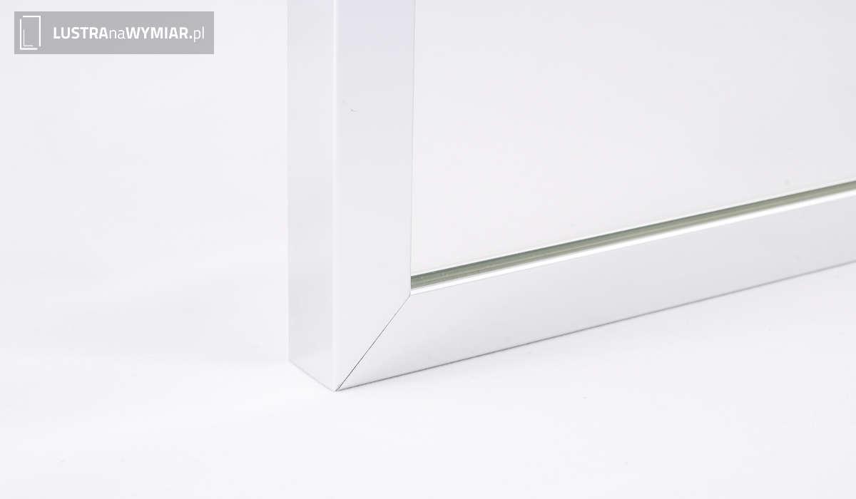 Lustro w Lustrzanej Ramie R01 Chrom - Lustra w ramach aluminiowych