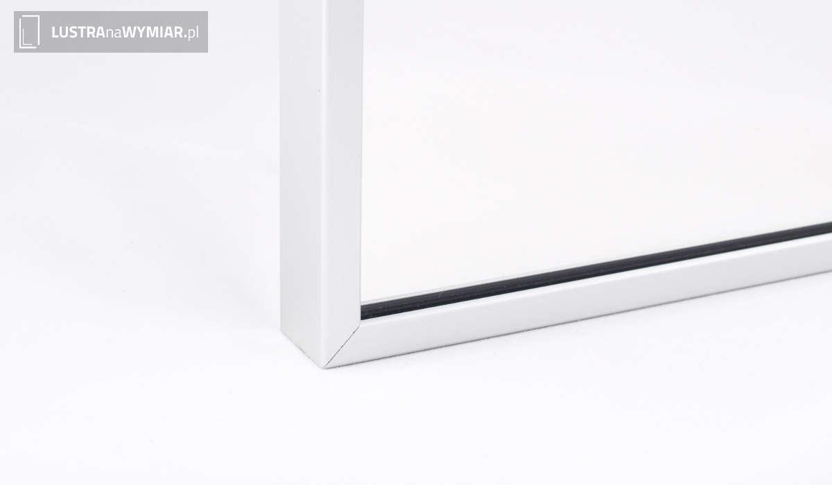 Lustro w Ozdobnej Ramie Aluminium R03 - Lustra w ramach aluminiowych