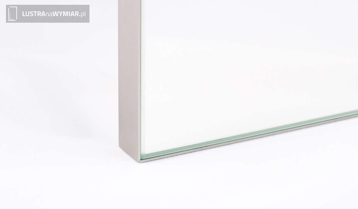 Lustro w Ramie R04 Inox - Lustra Warszawa Cena Online