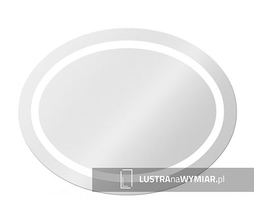 Lustro Oswietlenie Led Warszawa - Lustro LED do łazienki